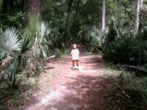 Deleon Springs State Park nature trail by Laurie Sterbens