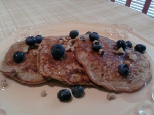 Oatmeal Banana Pancakes by Laurie Sterbens