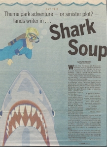 Shark Soup by Laurie Sterbens for the Daytona Beach News-Journal