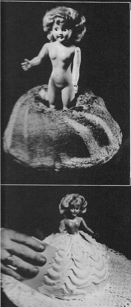 Wilton doll cake circa 1954