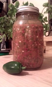 fresh salsa by Laurie Sterbens